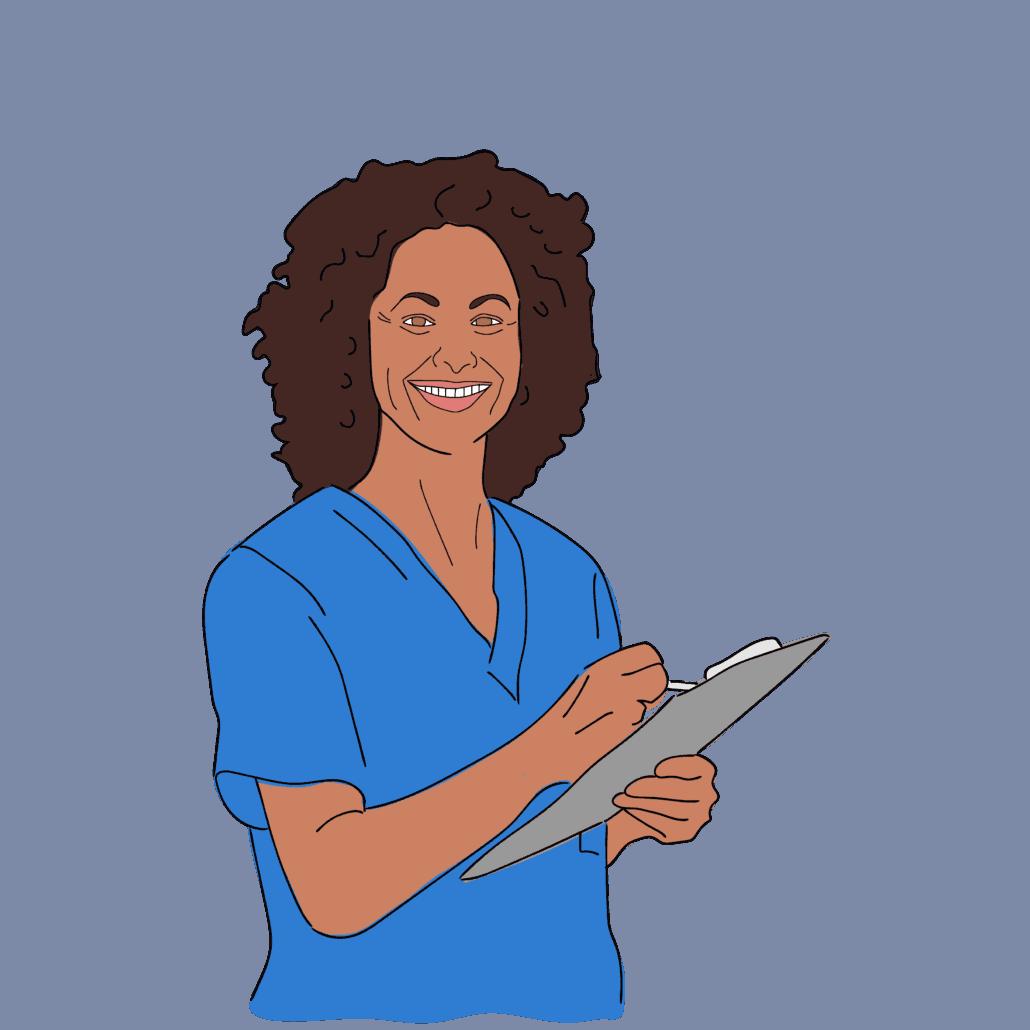 Female Dietician